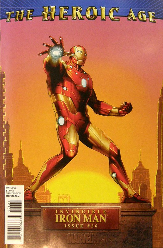 Cover of Invincible Iron Man (Vol 1) #26. One of 250,000 Vintage American Comics on sale from Krypton!