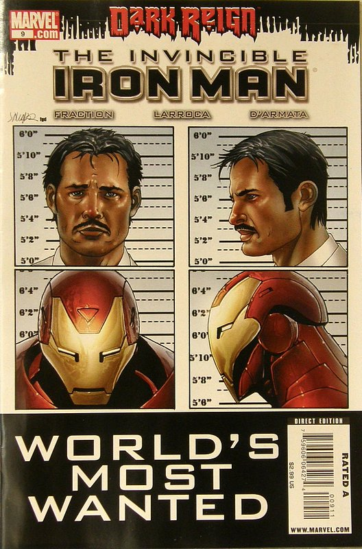 Cover of Invincible Iron Man (Vol 1) #9. One of 250,000 Vintage American Comics on sale from Krypton!