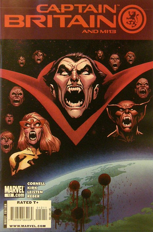 Cover of Captain Britain & MI: 13 #12. One of 250,000 Vintage American Comics on sale from Krypton!