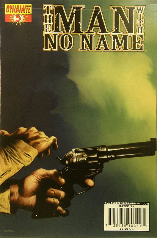 Cover of Man With no Name (Vol 1) #5. One of 250,000 Vintage American Comics on sale from Krypton!
