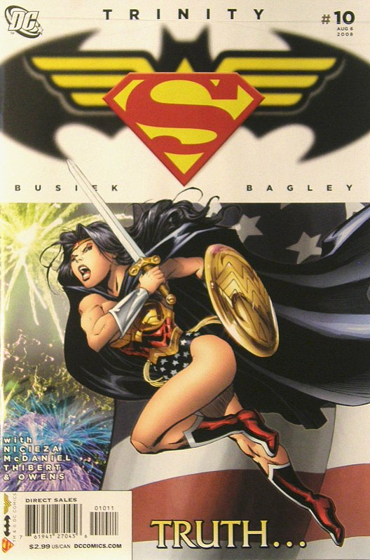 Cover of Trinity (2008) #10. One of 250,000 Vintage American Comics on sale from Krypton!