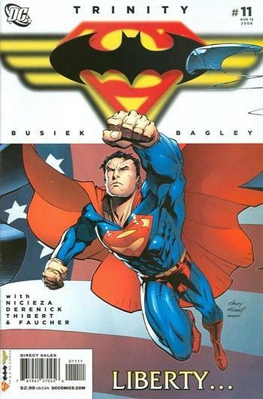 Cover of Trinity (2008) #11. One of 250,000 Vintage American Comics on sale from Krypton!