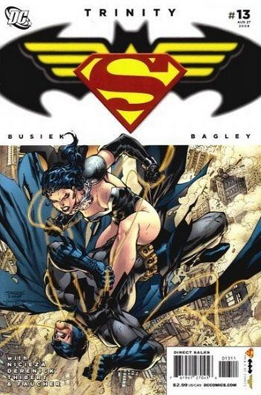 Cover of Trinity (2008) #13. One of 250,000 Vintage American Comics on sale from Krypton!