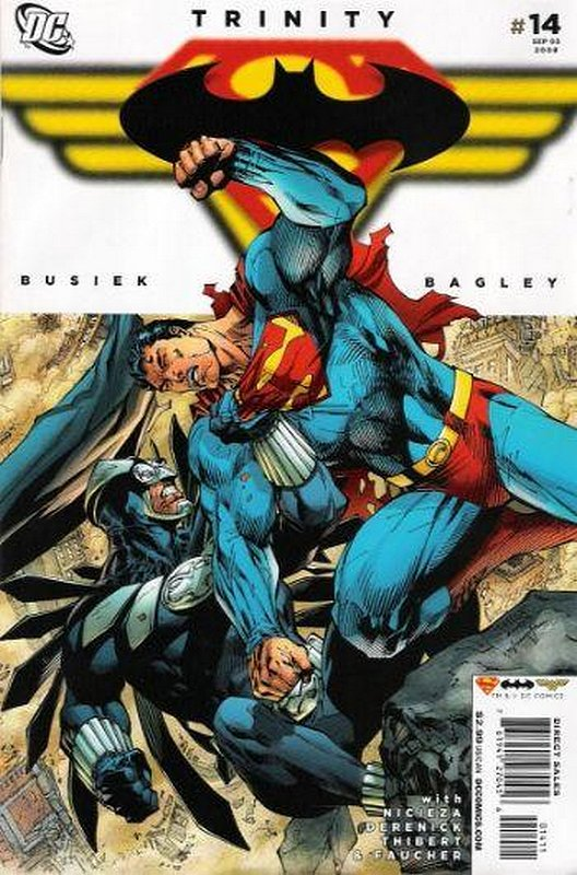 Cover of Trinity (2008) #14. One of 250,000 Vintage American Comics on sale from Krypton!