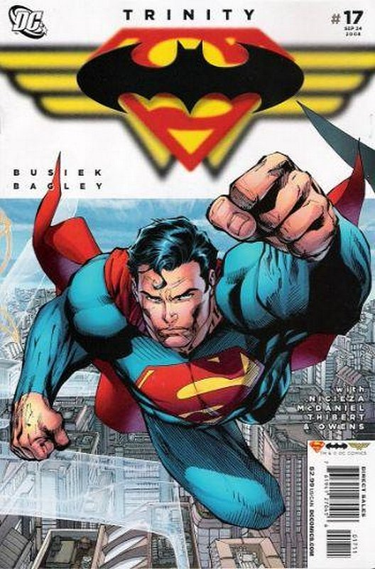 Cover of Trinity (2008) #17. One of 250,000 Vintage American Comics on sale from Krypton!