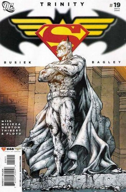 Cover of Trinity (2008) #19. One of 250,000 Vintage American Comics on sale from Krypton!
