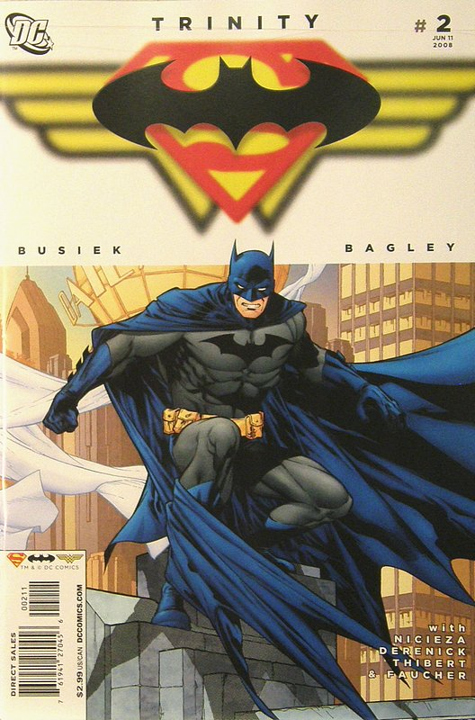 Cover of Trinity (2008) #2. One of 250,000 Vintage American Comics on sale from Krypton!