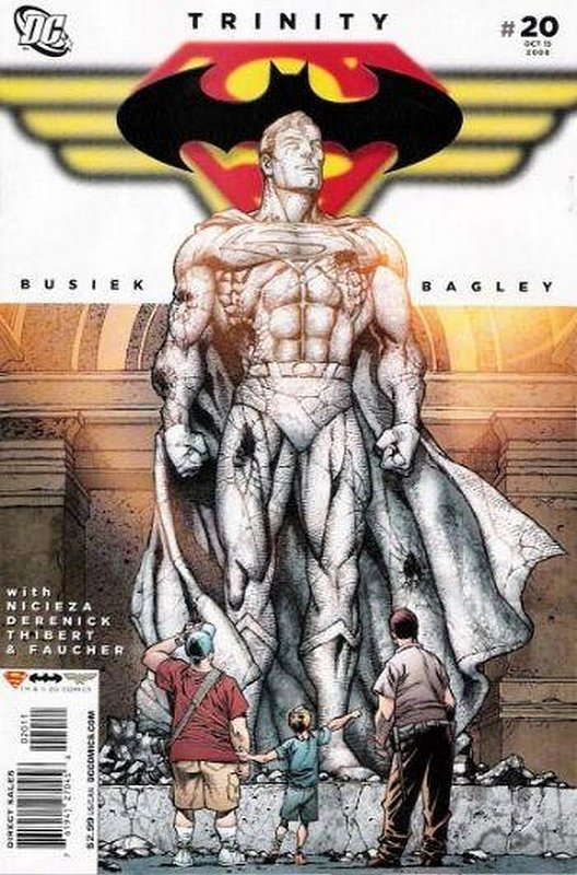 Cover of Trinity (2008) #20. One of 250,000 Vintage American Comics on sale from Krypton!