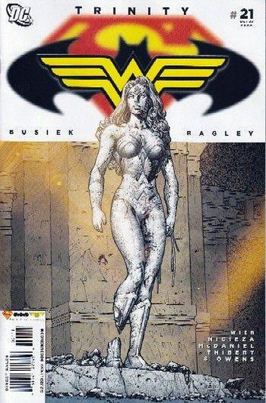 Cover of Trinity (2008) #21. One of 250,000 Vintage American Comics on sale from Krypton!
