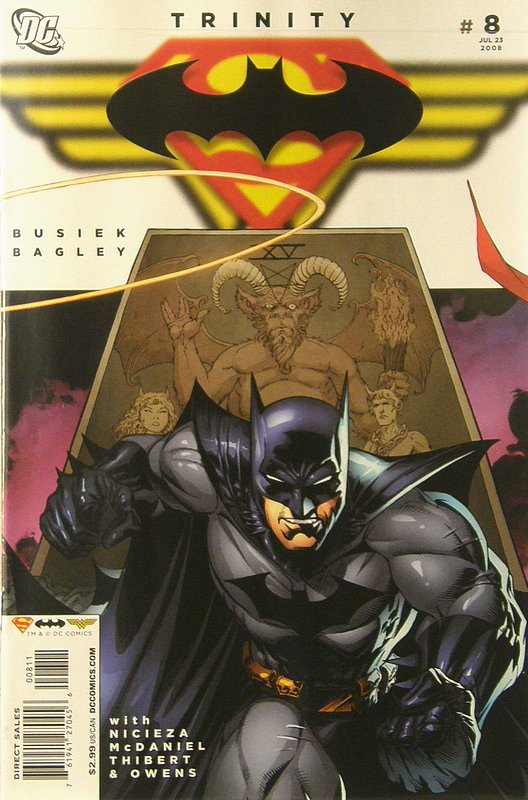 Cover of Trinity (2008) #8. One of 250,000 Vintage American Comics on sale from Krypton!