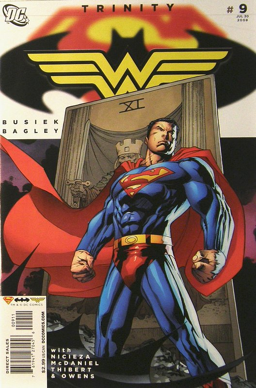 Cover of Trinity (2008) #9. One of 250,000 Vintage American Comics on sale from Krypton!