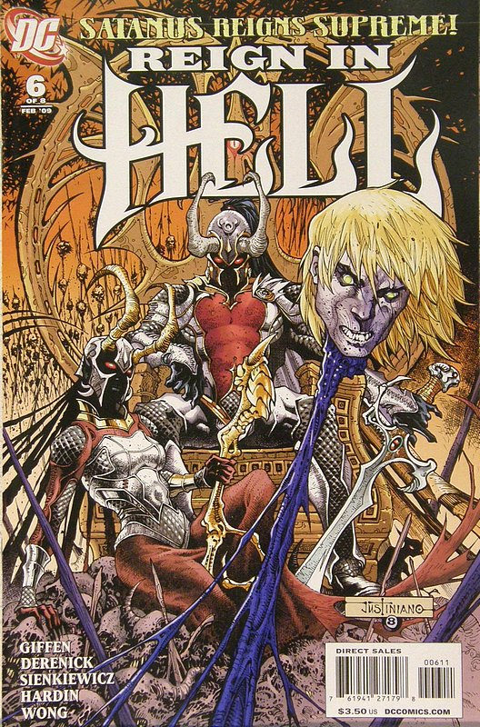 Cover of Reign in Hell (2008 Ltd) #6. One of 250,000 Vintage American Comics on sale from Krypton!