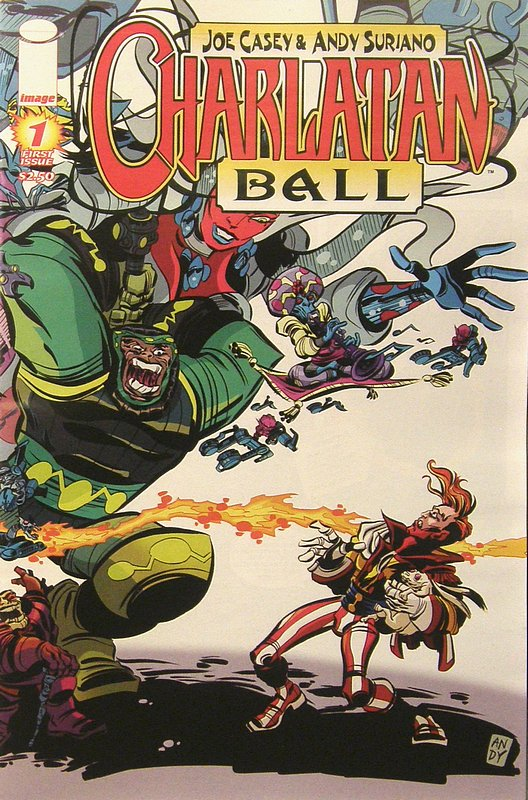 Cover of Charlatan Ball (Vol 1) #1. One of 250,000 Vintage American Comics on sale from Krypton!