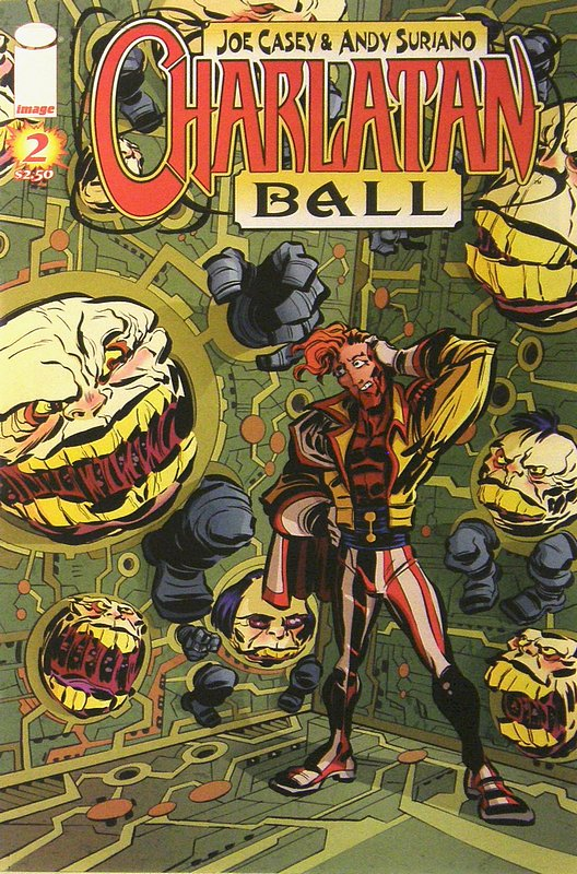 Cover of Charlatan Ball (Vol 1) #2. One of 250,000 Vintage American Comics on sale from Krypton!