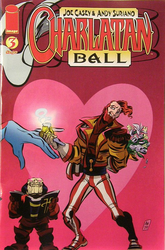 Cover of Charlatan Ball (Vol 1) #3. One of 250,000 Vintage American Comics on sale from Krypton!
