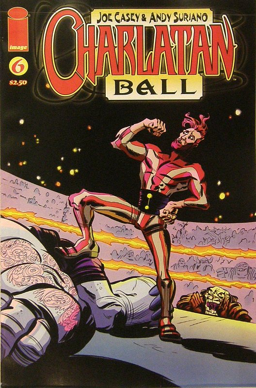 Cover of Charlatan Ball (Vol 1) #6. One of 250,000 Vintage American Comics on sale from Krypton!
