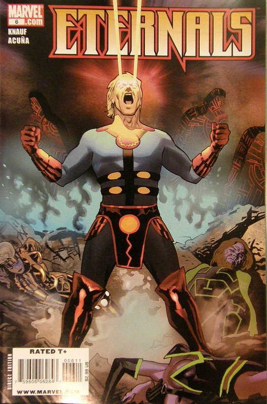 Cover of Eternals (Vol 2) #6. One of 250,000 Vintage American Comics on sale from Krypton!