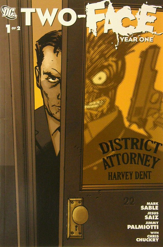 Cover of Two-Face: Year One (2008 Ltd) #1. One of 250,000 Vintage American Comics on sale from Krypton!