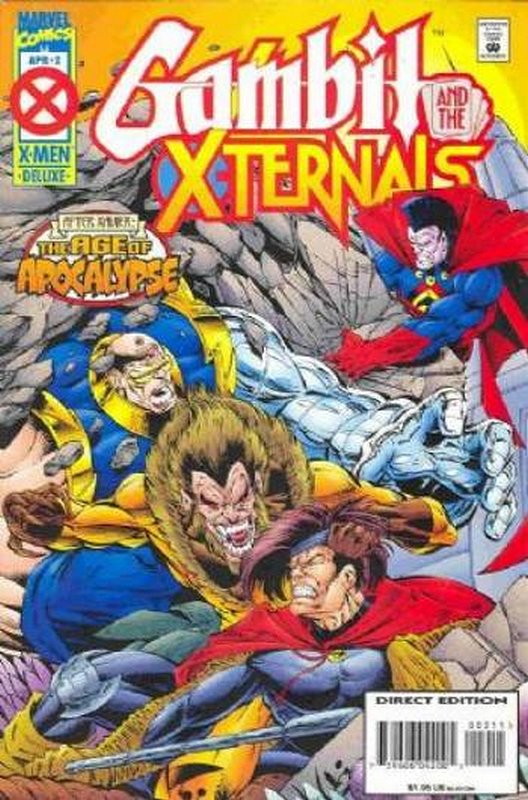 Cover of Gambit & The X-turnals (1995 Ltd) #2. One of 250,000 Vintage American Comics on sale from Krypton!