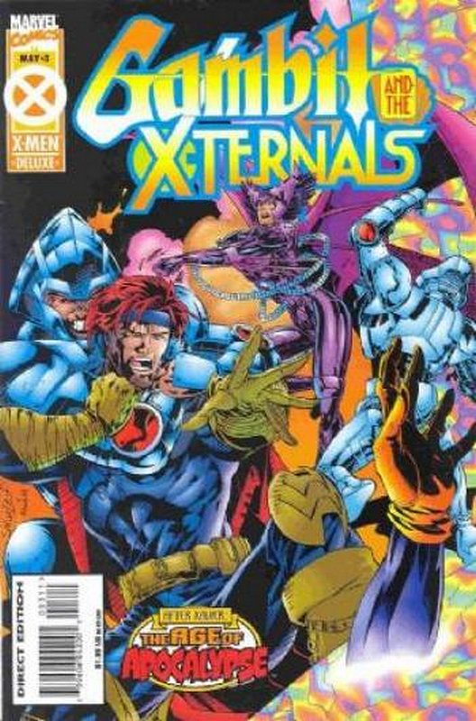 Cover of Gambit & The X-turnals (1995 Ltd) #3. One of 250,000 Vintage American Comics on sale from Krypton!