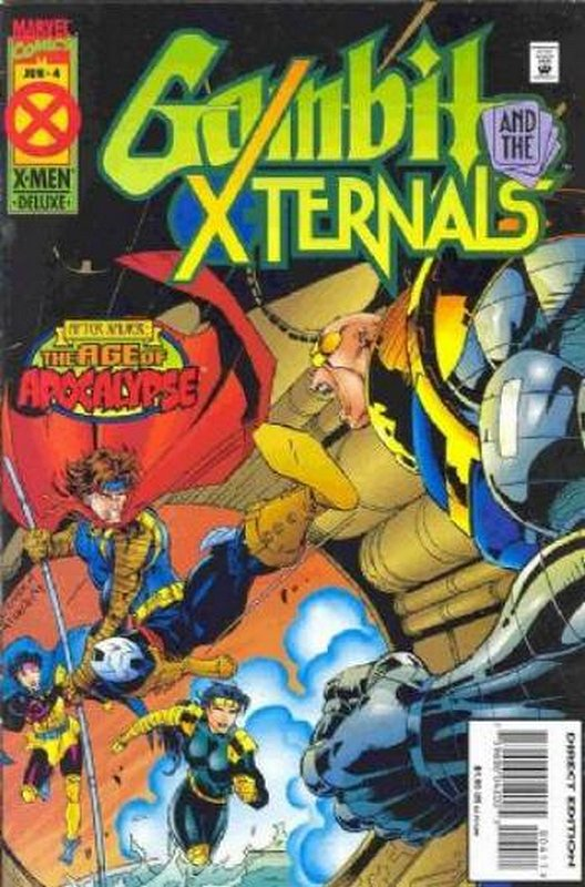 Cover of Gambit & The X-turnals (1995 Ltd) #4. One of 250,000 Vintage American Comics on sale from Krypton!
