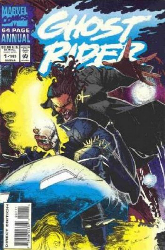 Cover of Ghost Rider Annual (Vol 2) #1. One of 250,000 Vintage American Comics on sale from Krypton!