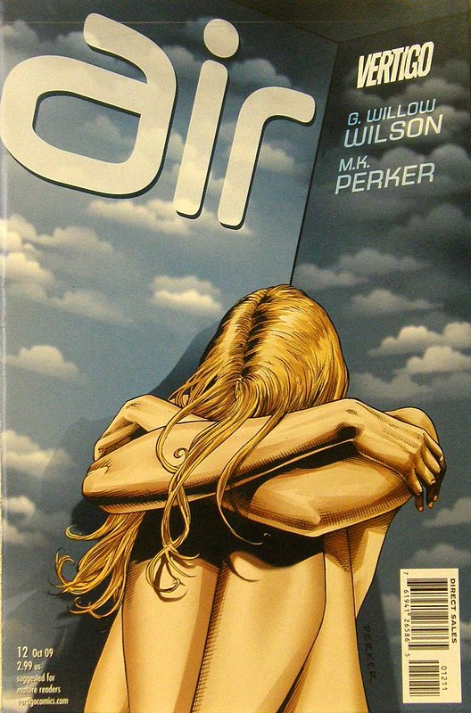 Cover of Air (Vol 1) #12. One of 250,000 Vintage American Comics on sale from Krypton!