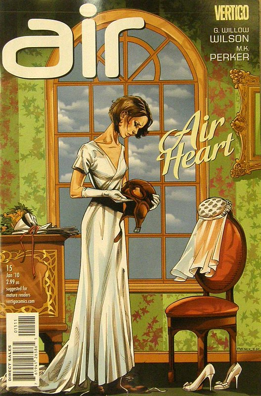 Cover of Air (Vol 1) #15. One of 250,000 Vintage American Comics on sale from Krypton!