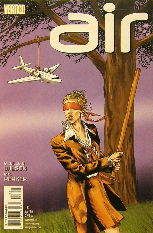 Cover of Air (Vol 1) #18. One of 250,000 Vintage American Comics on sale from Krypton!