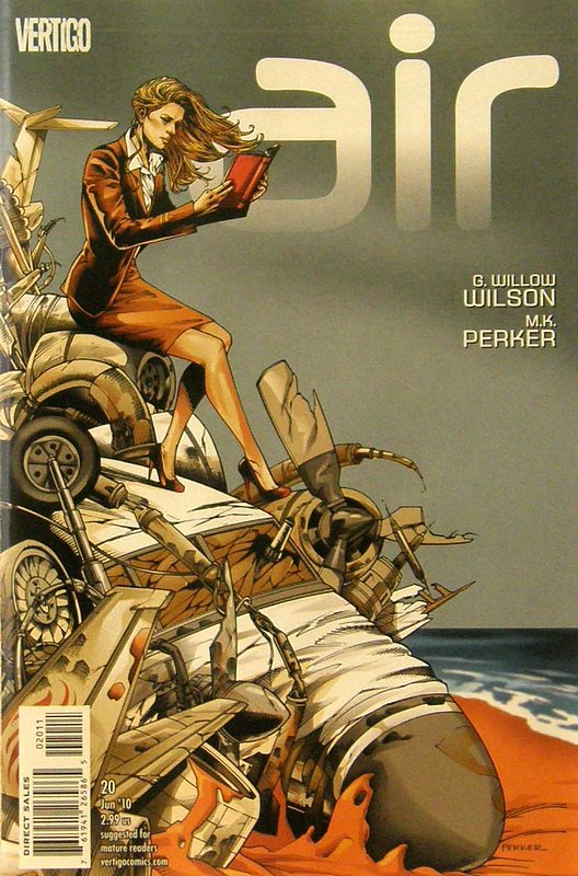 Cover of Air (Vol 1) #20. One of 250,000 Vintage American Comics on sale from Krypton!