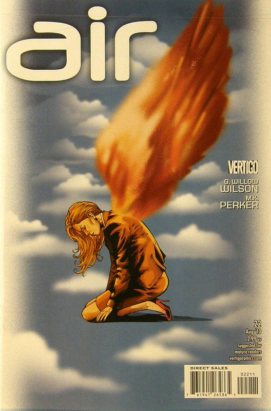 Cover of Air (Vol 1) #22. One of 250,000 Vintage American Comics on sale from Krypton!