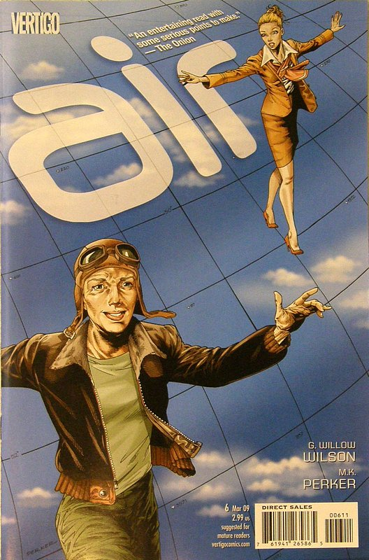 Cover of Air (Vol 1) #6. One of 250,000 Vintage American Comics on sale from Krypton!