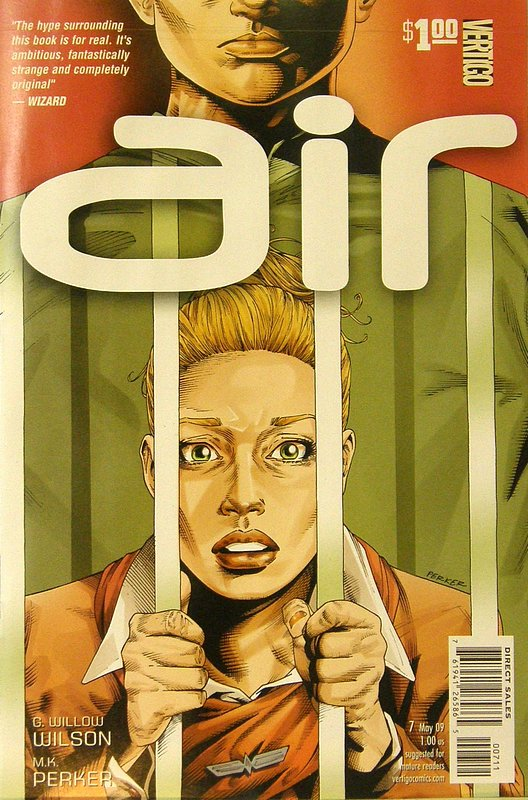Cover of Air (Vol 1) #7. One of 250,000 Vintage American Comics on sale from Krypton!