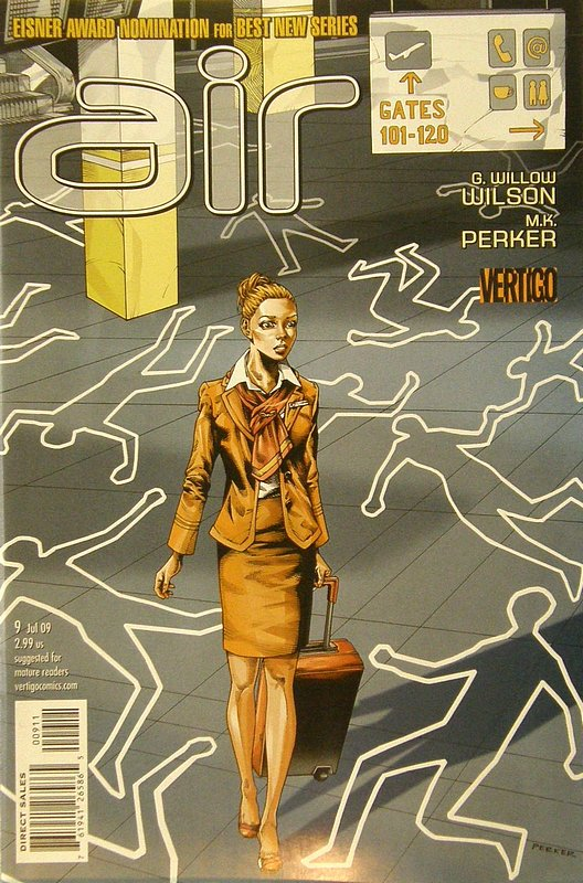 Cover of Air (Vol 1) #9. One of 250,000 Vintage American Comics on sale from Krypton!