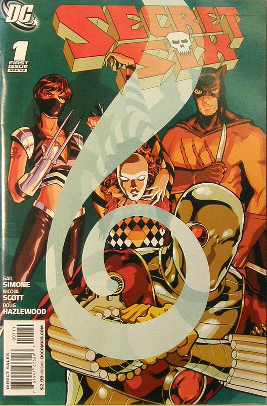 Cover of Secret Six (Vol 2) #1. One of 250,000 Vintage American Comics on sale from Krypton!