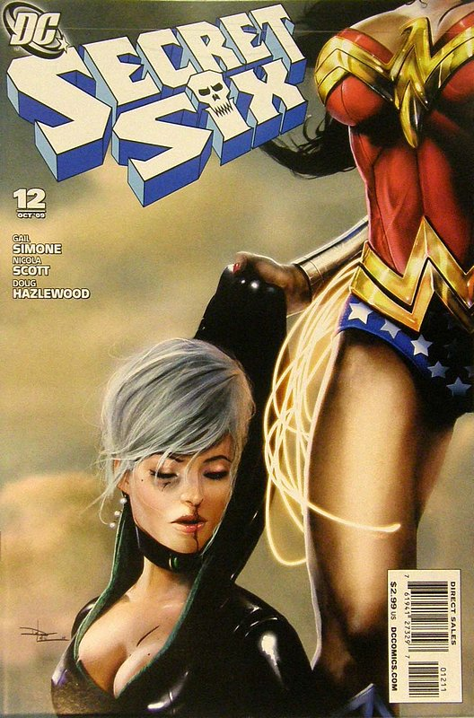 Cover of Secret Six (Vol 2) #12. One of 250,000 Vintage American Comics on sale from Krypton!