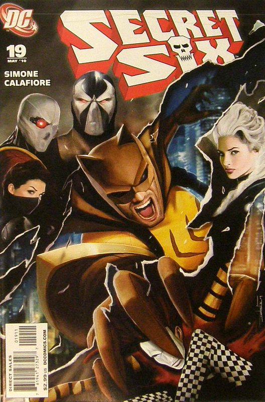 Cover of Secret Six (Vol 2) #19. One of 250,000 Vintage American Comics on sale from Krypton!