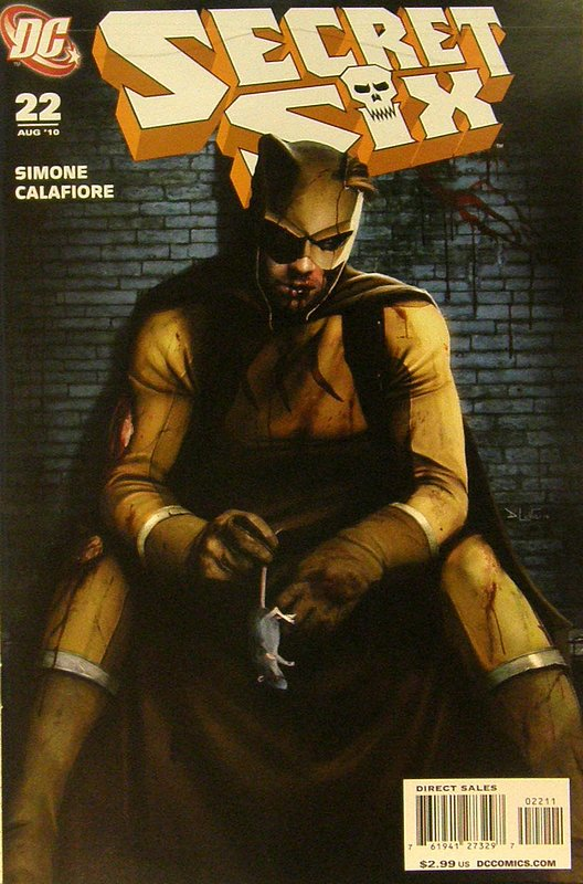 Cover of Secret Six (Vol 2) #22. One of 250,000 Vintage American Comics on sale from Krypton!
