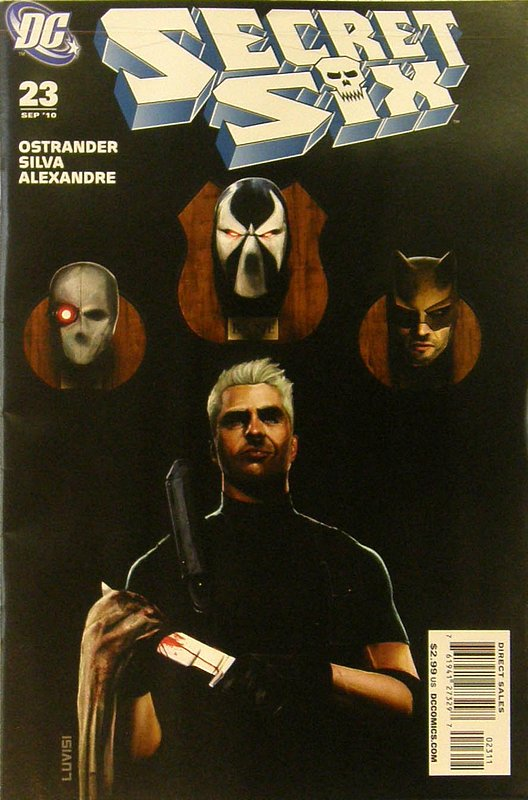 Cover of Secret Six (Vol 2) #23. One of 250,000 Vintage American Comics on sale from Krypton!