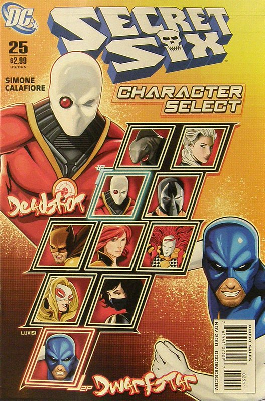 Cover of Secret Six (Vol 2) #25. One of 250,000 Vintage American Comics on sale from Krypton!