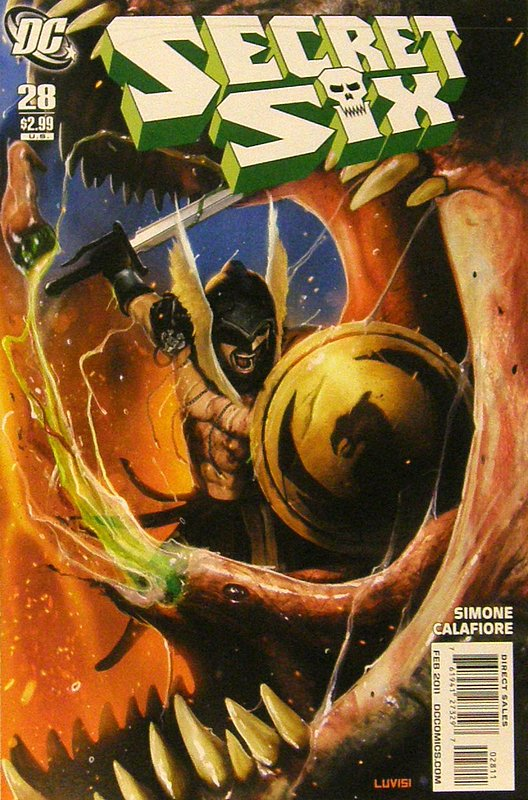 Cover of Secret Six (Vol 2) #28. One of 250,000 Vintage American Comics on sale from Krypton!