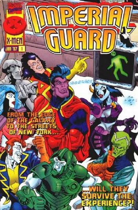 Cover of Imperial Guard (1997 Ltd) #1. One of 250,000 Vintage American Comics on sale from Krypton!