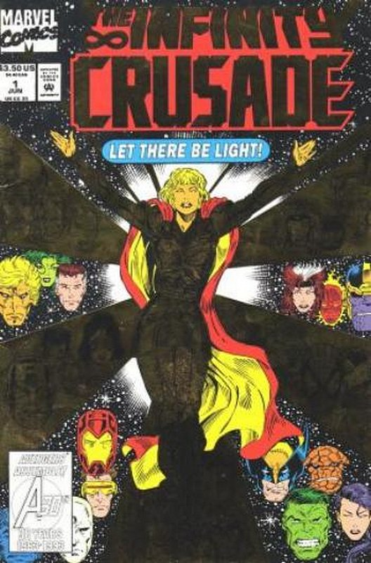 Cover of Infinity Crusade (1993 Ltd) #1. One of 250,000 Vintage American Comics on sale from Krypton!