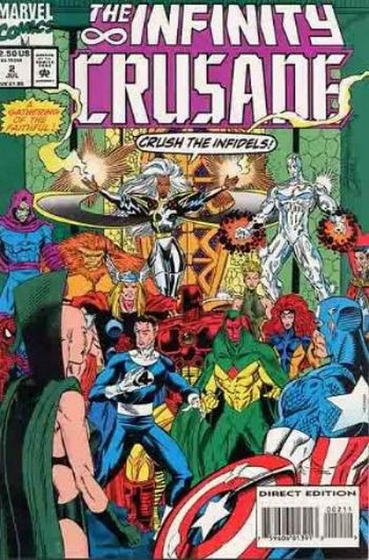 Cover of Infinity Crusade (1993 Ltd) #2. One of 250,000 Vintage American Comics on sale from Krypton!