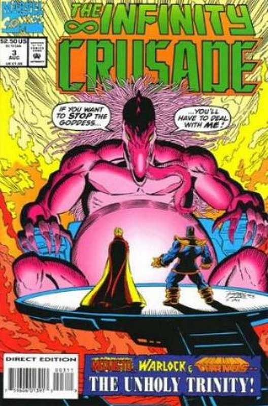 Cover of Infinity Crusade (1993 Ltd) #3. One of 250,000 Vintage American Comics on sale from Krypton!