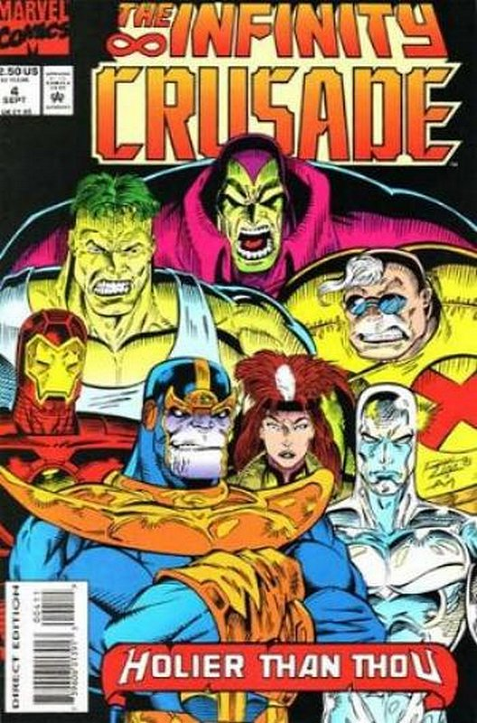Cover of Infinity Crusade (1993 Ltd) #4. One of 250,000 Vintage American Comics on sale from Krypton!