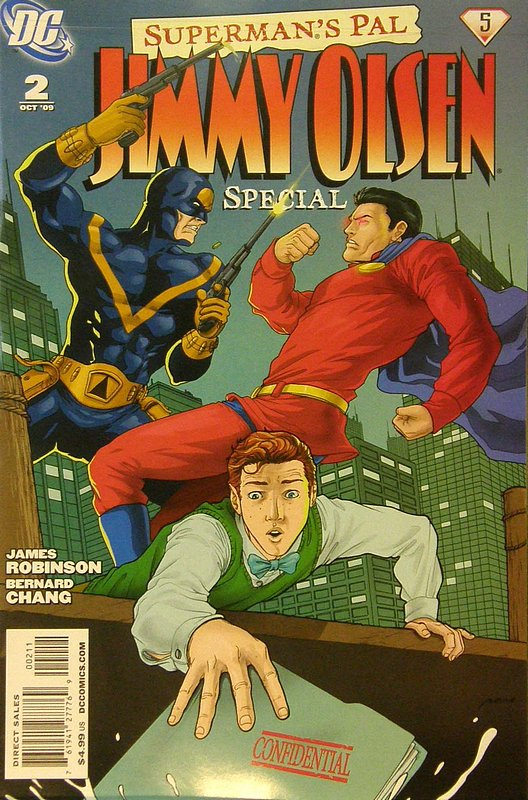 Cover of Supermans Pal - Jimmy Olsen Special (2008 Ltd) #2. One of 250,000 Vintage American Comics on sale from Krypton!