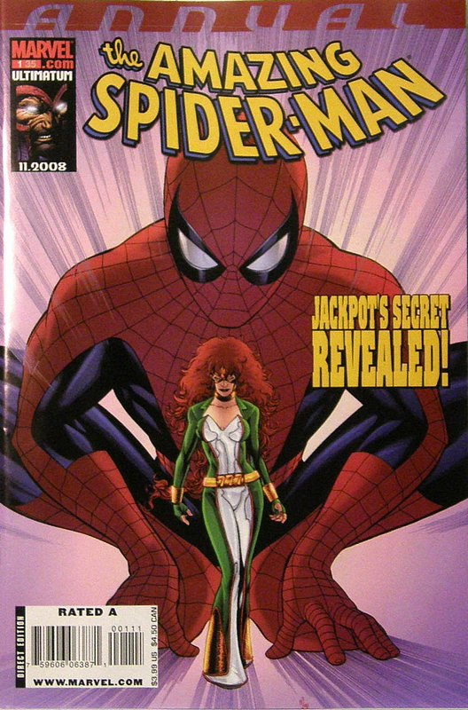 Cover of Amazing Spider-Man Annual (Vol 2) #1. One of 250,000 Vintage American Comics on sale from Krypton!