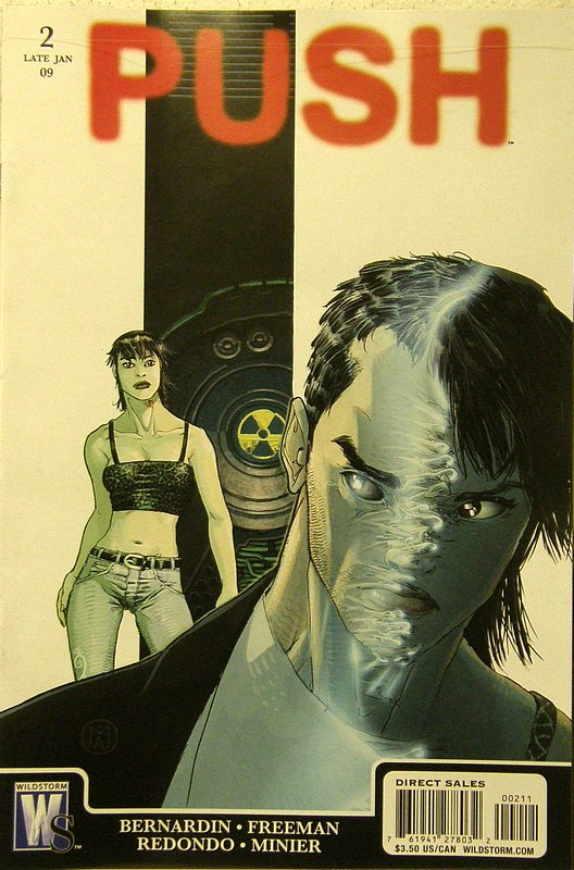 Cover of Push (2009 Ltd) #2. One of 250,000 Vintage American Comics on sale from Krypton!