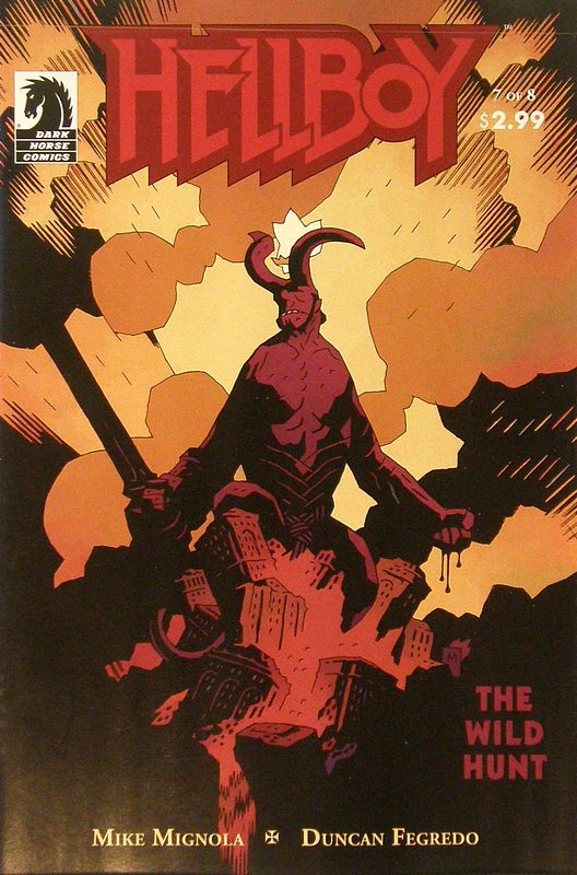 Cover of Hellboy: Wild Hunt #7. One of 250,000 Vintage American Comics on sale from Krypton!